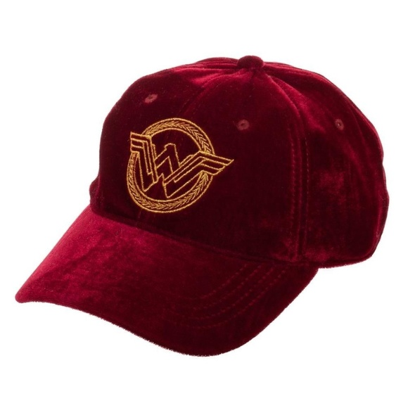 01661e79b1896 Wonder Woman Velvet Hat